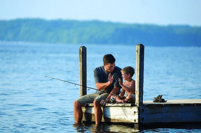 Matching fishing shirts 1