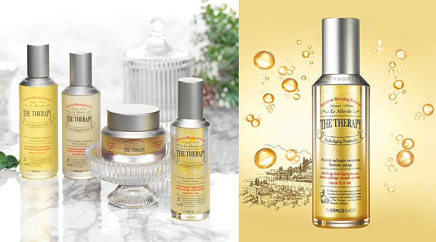The Therapy Oil-drop Anti-aging Serum