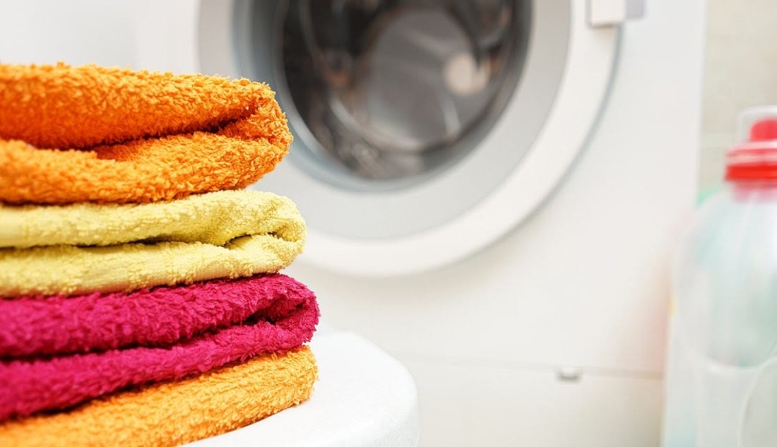 Wash launder sheets and towels