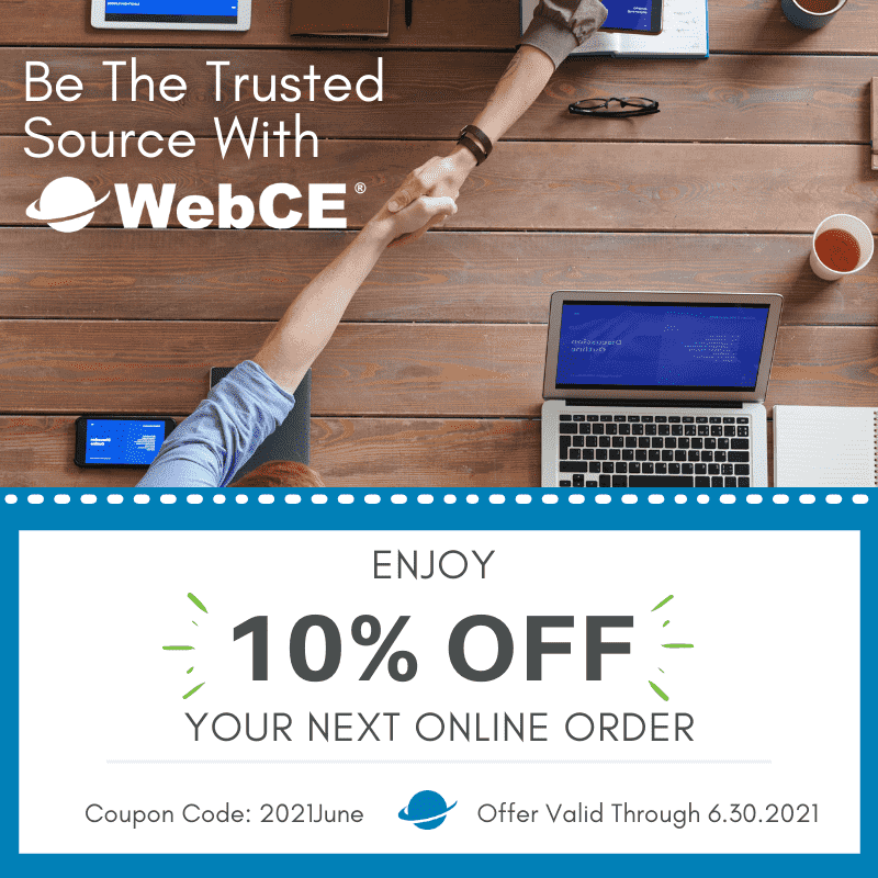WebCE special offers
